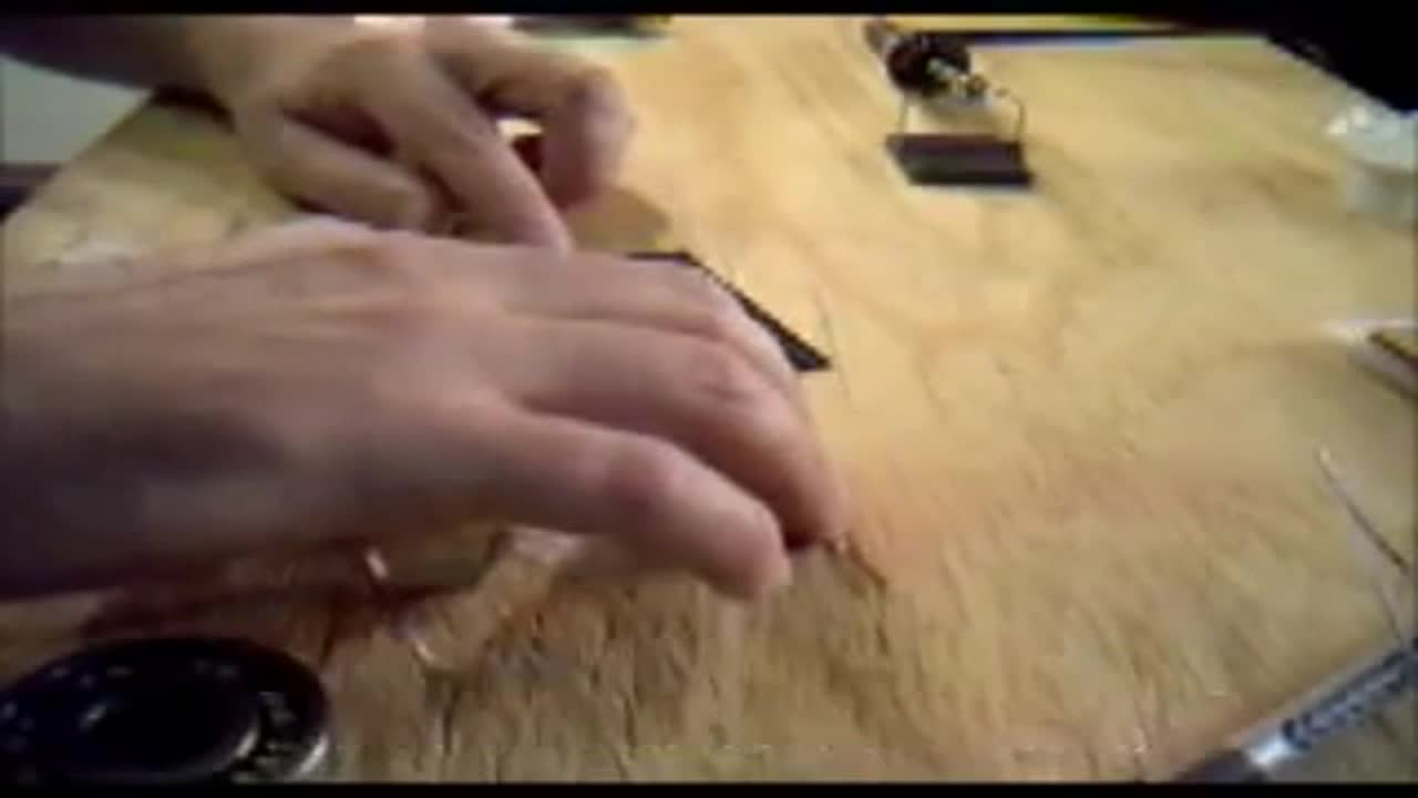 How to solder tabbing wire onto solar cells while making your own solar panels Part 4