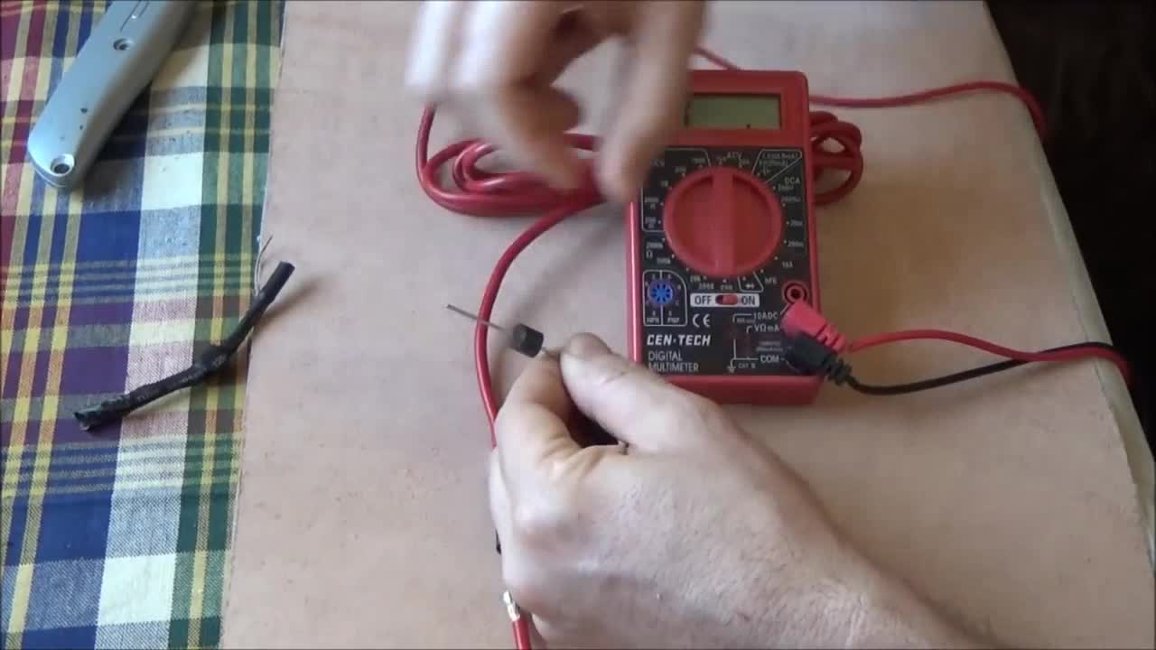 How A Blocking Diode Works & Testing A Diode With A Multimeter