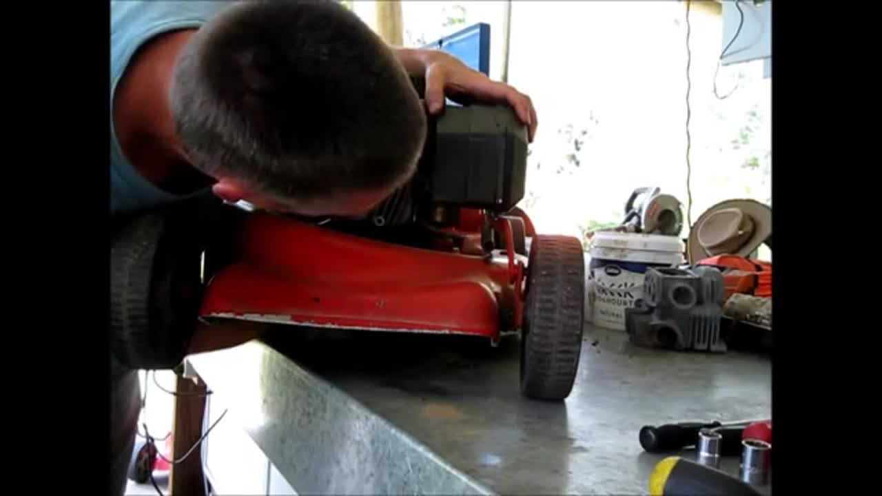 Swapping Lawn Mower Engines And Decks Full Detailed Video