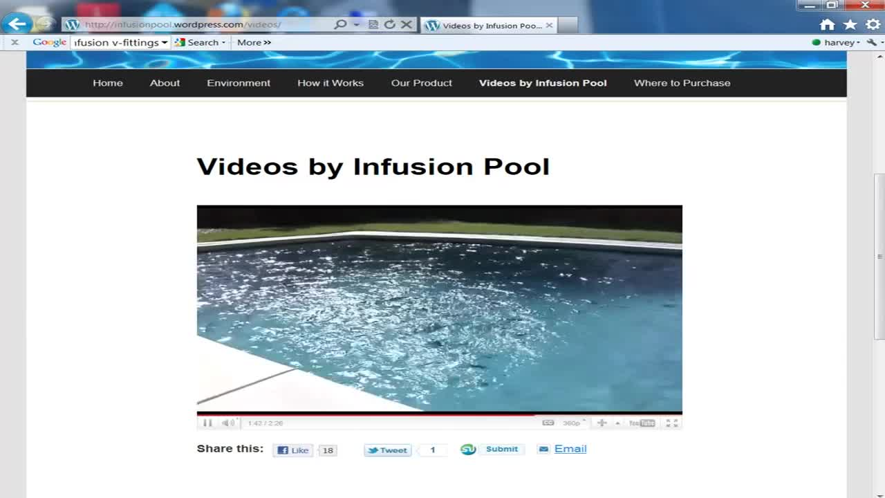 Infusion Inlet Fitting for pool and spa.mp4