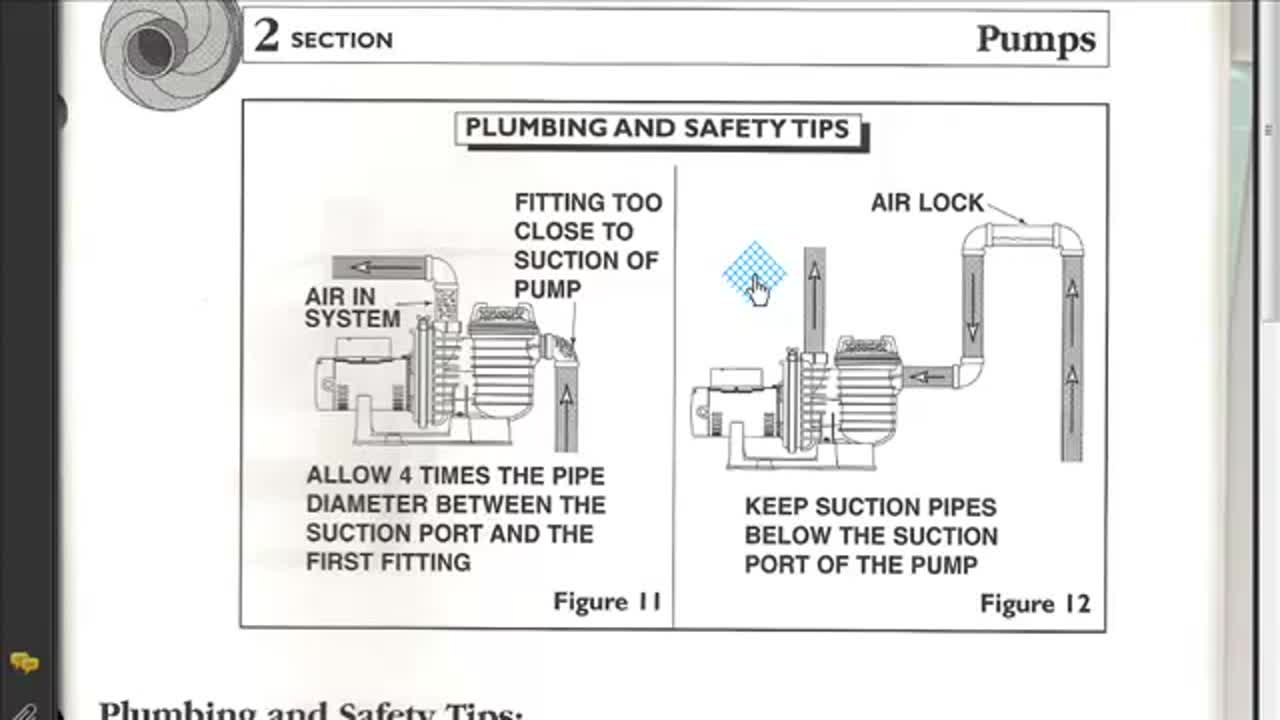 Plumbing and safety tips pools and spas part  2