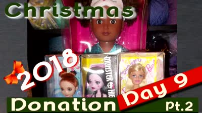 Christmas 2018 Day 9 ~ Donation Day Pt2