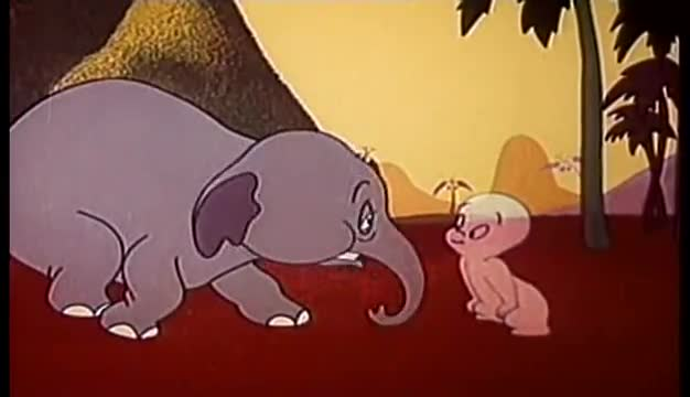 Casper The Friendly Ghost Classic Cartoon Spooking About Africa 1956