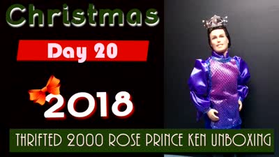 Christmas 2018 Day 20 ~ Thrifted 2000 Rose Prince Ken Unboxing