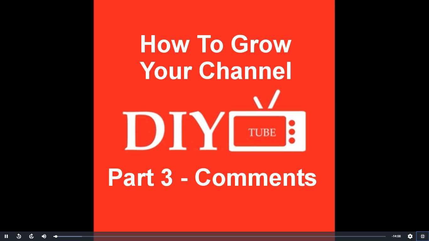 How To Grow Your Channel Pt 3 How Comments Help