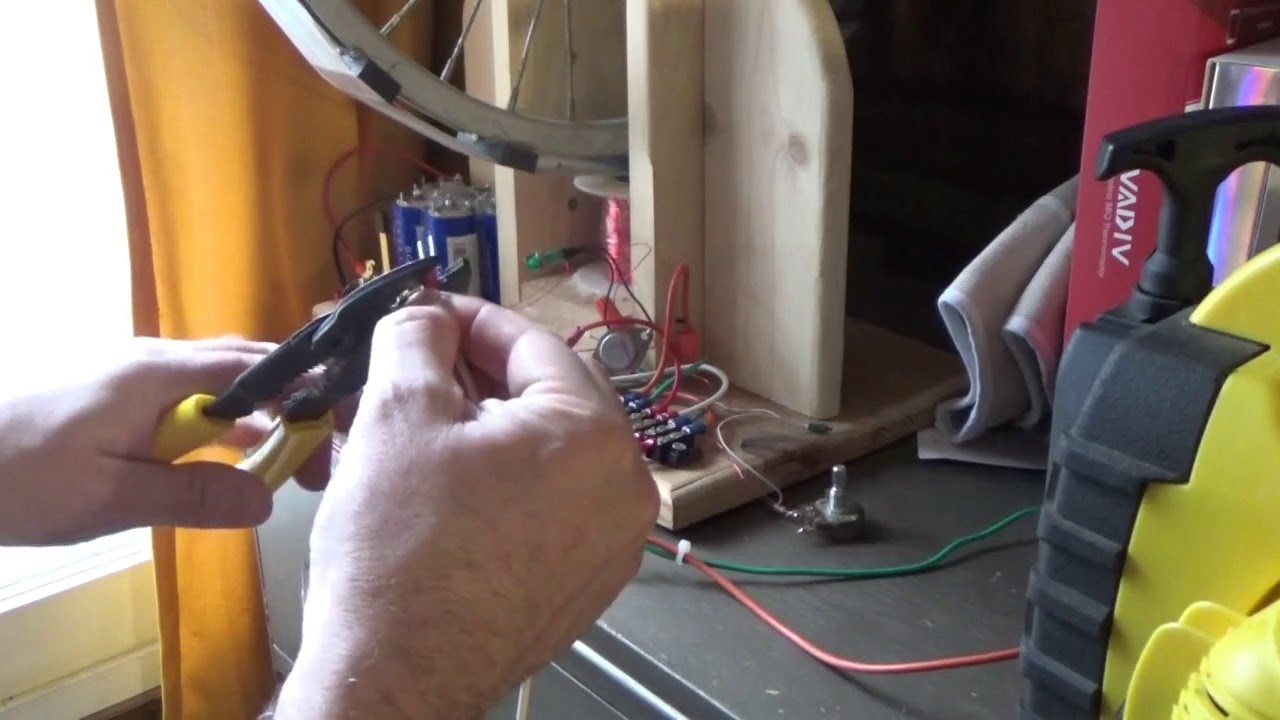 Increase Bedini Motor Output With A Diode And Some Wires
