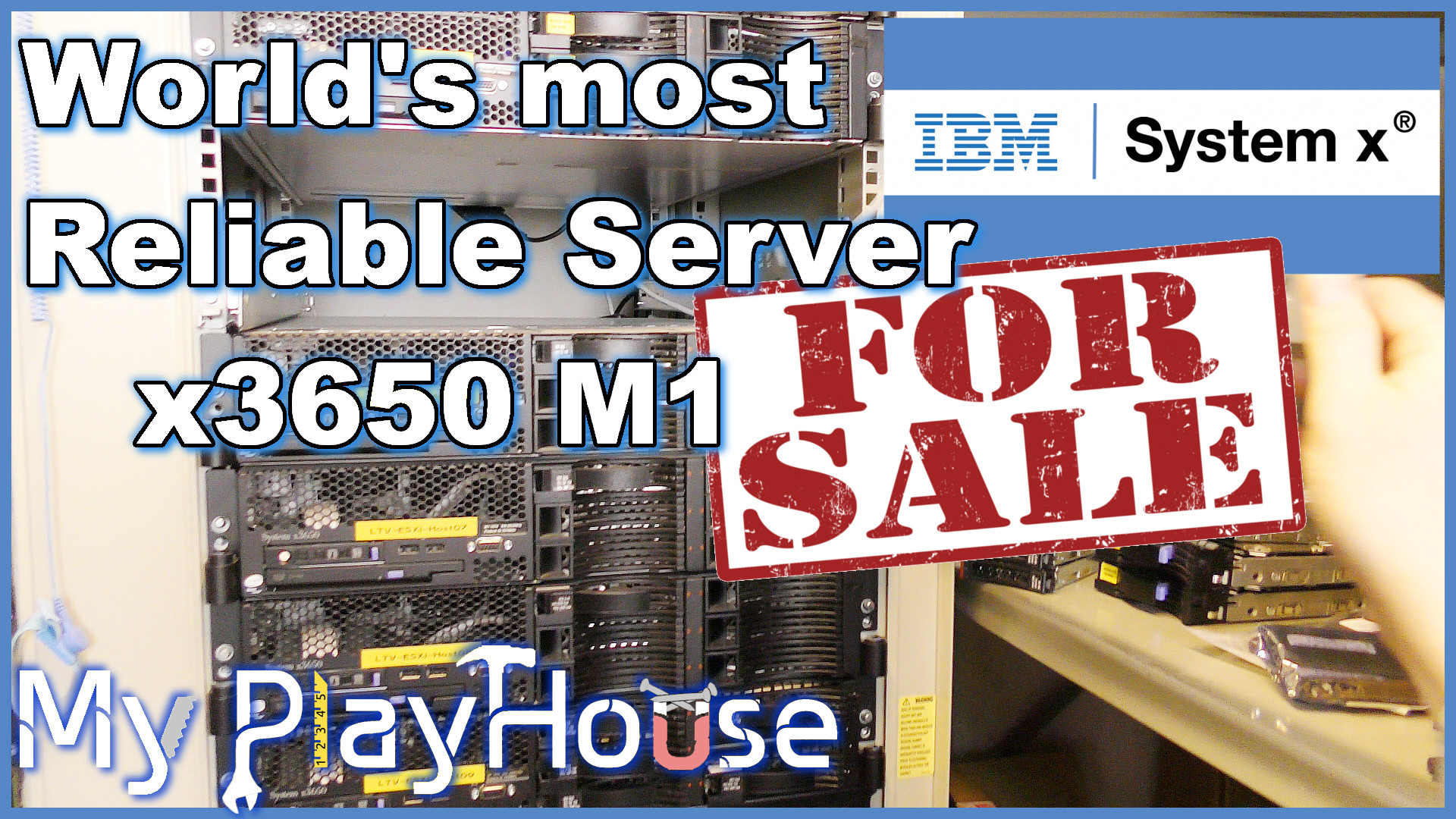 Selling 6 of the World's most Stable server - x3650 M1 - 615