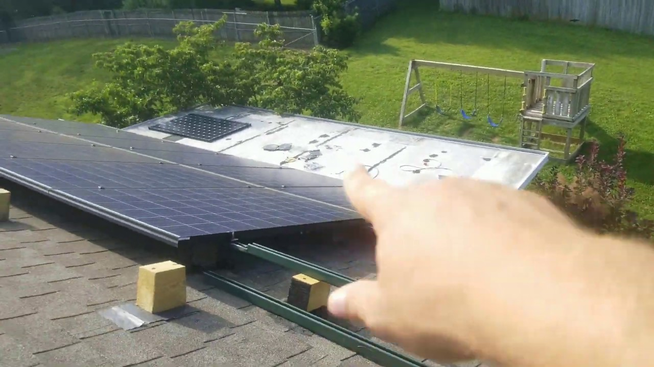 Installing DIY Roof Rack & Mount On The Roof For Last Of The Solar Panels 10.3kWh