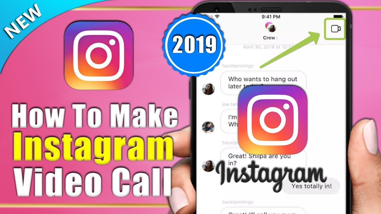 How to Make Video Chat on Instagram 2019 | Make Instagram Video Call