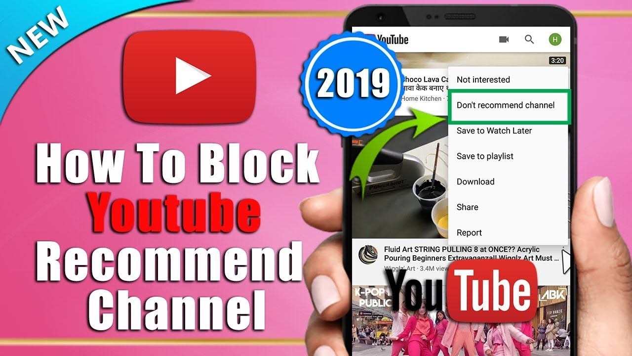 How To Remove/Block YouTube Recommend Videos And Channel