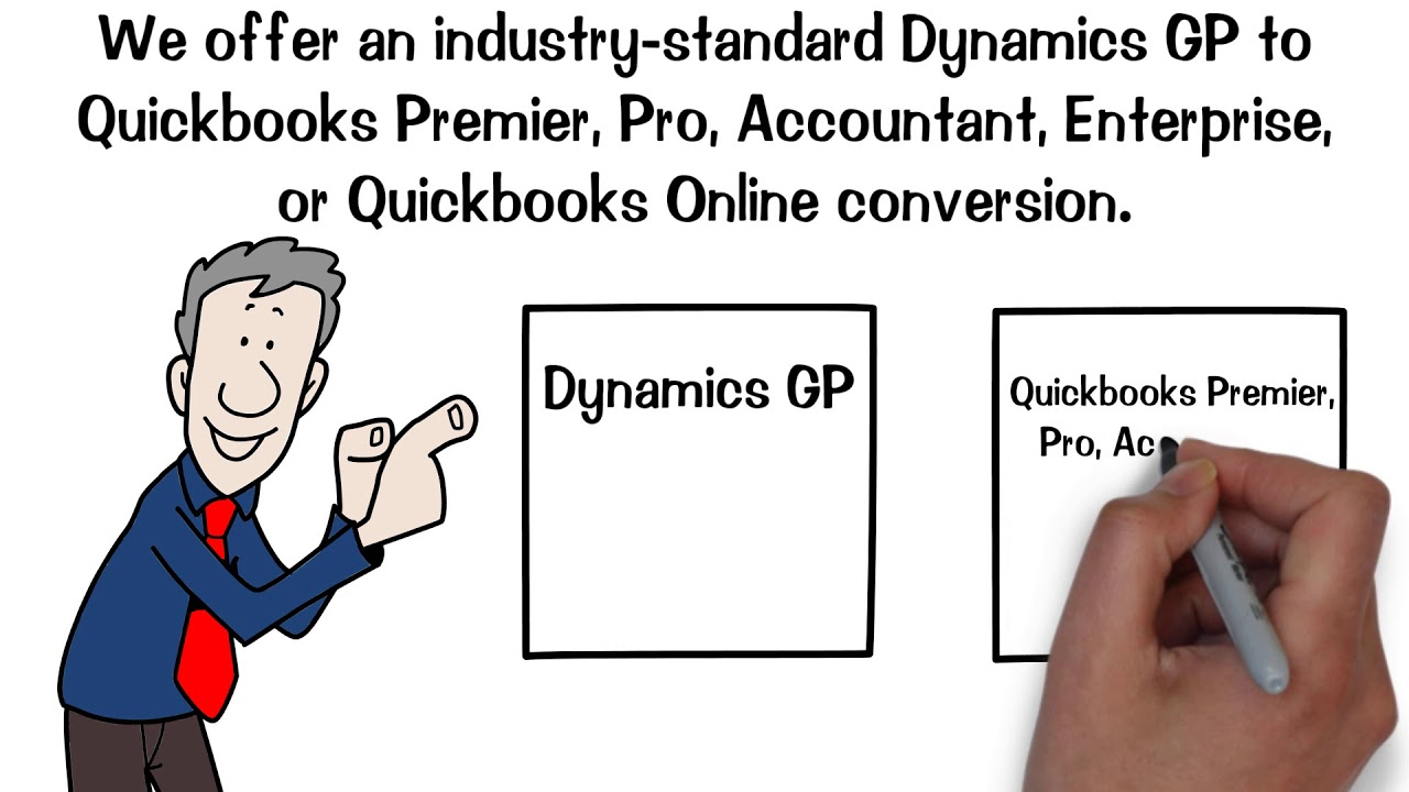 Dynamics (Great Plains) to Quickbooks