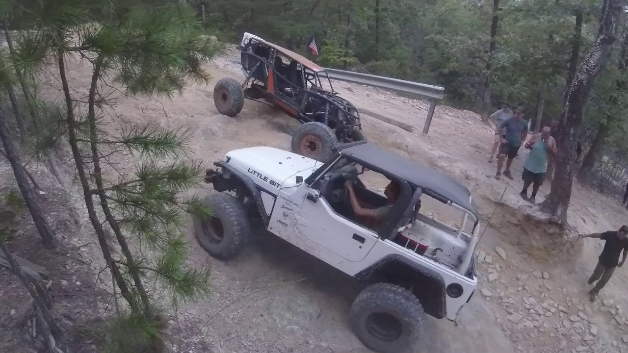 Uwharrie National Forest with the On The Rocks Off Road Club at Daniel Trail