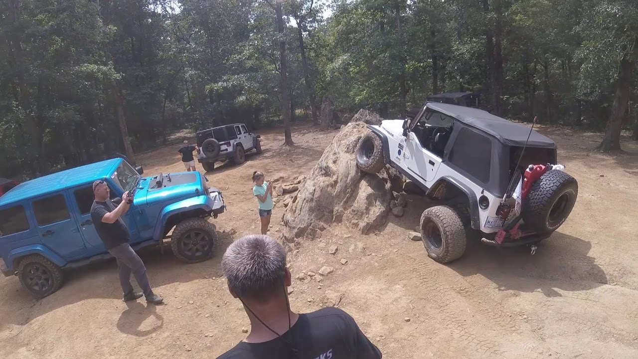 Jeep 4 x 4 Day at Uwharrie National Forest