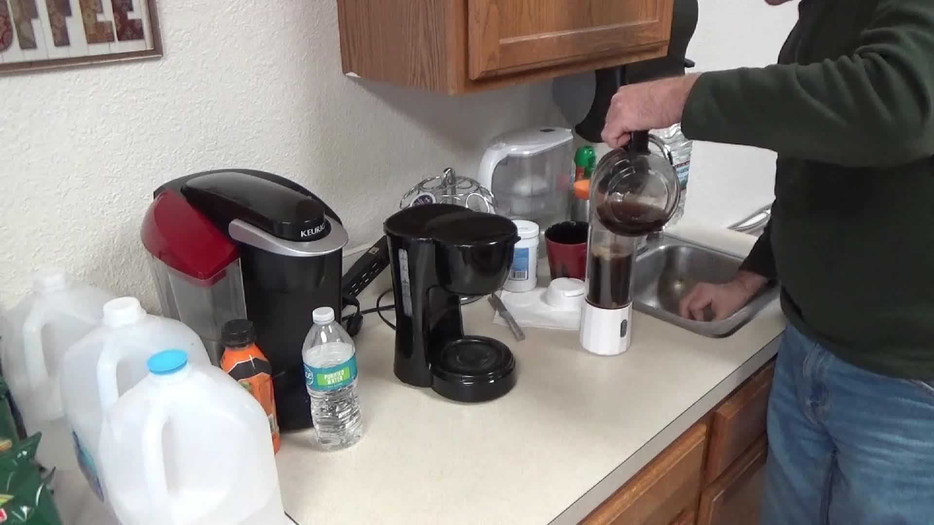 Coconut Oil In Coffee Is Healthier & Michelle Helping Make It