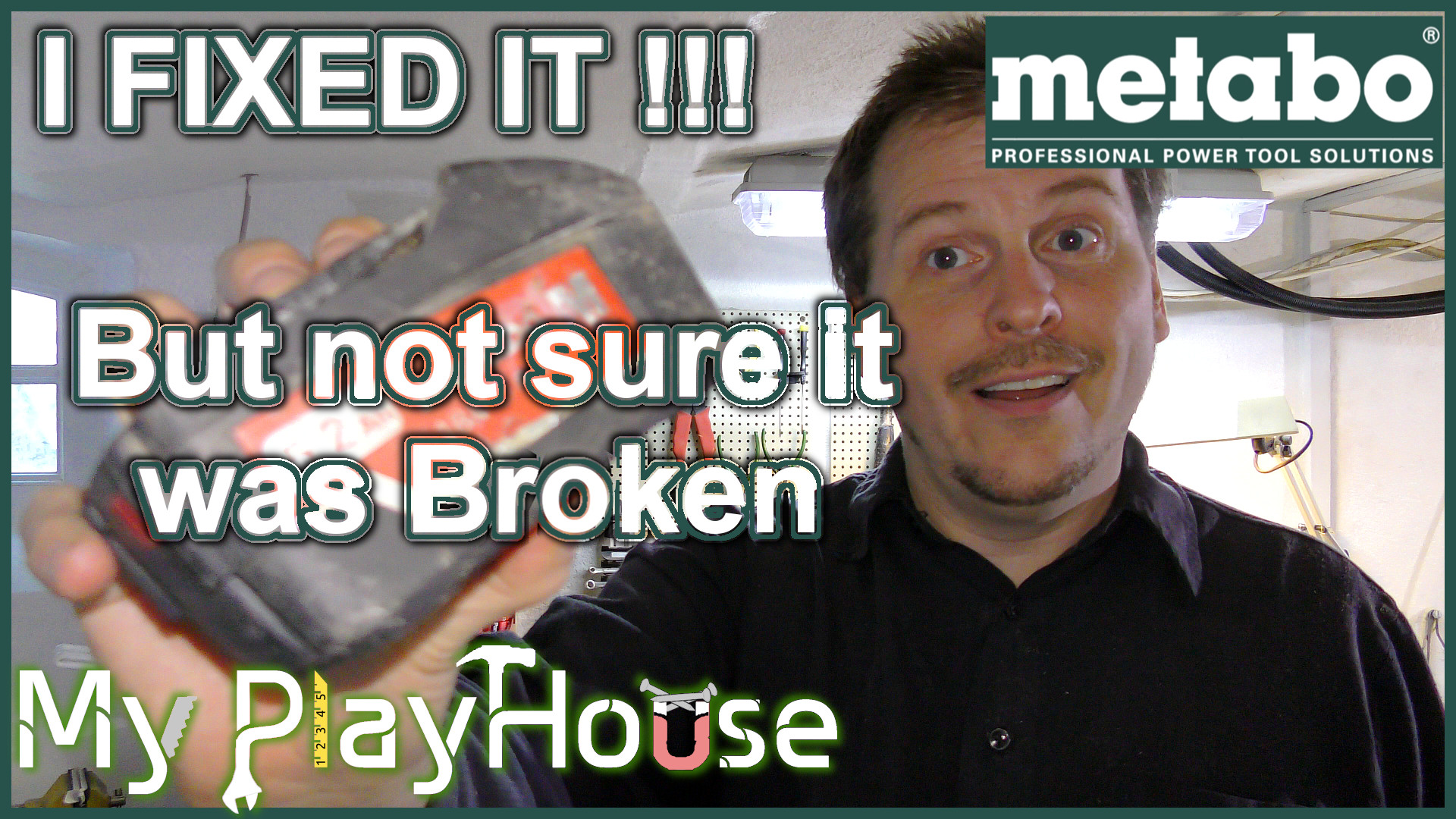 Metabo - 5.2 Ah Battery Pack FIXED, but was it Broken - 744