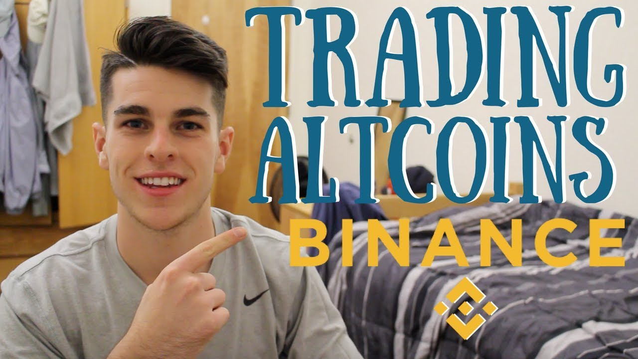 How To Start Trading Altcoins Using Binance!