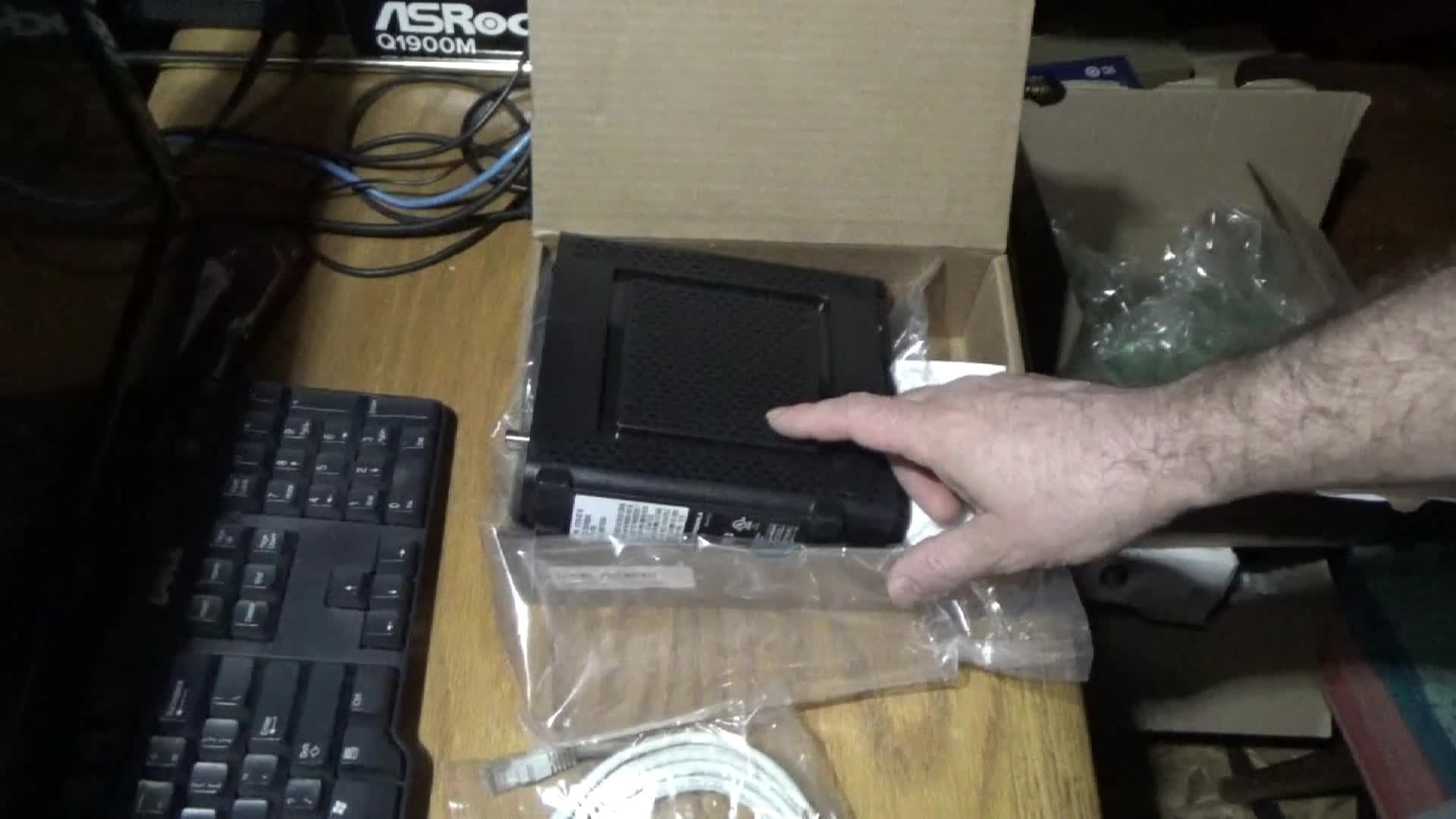 Unboxing New Router For DIY Tube Video Servers