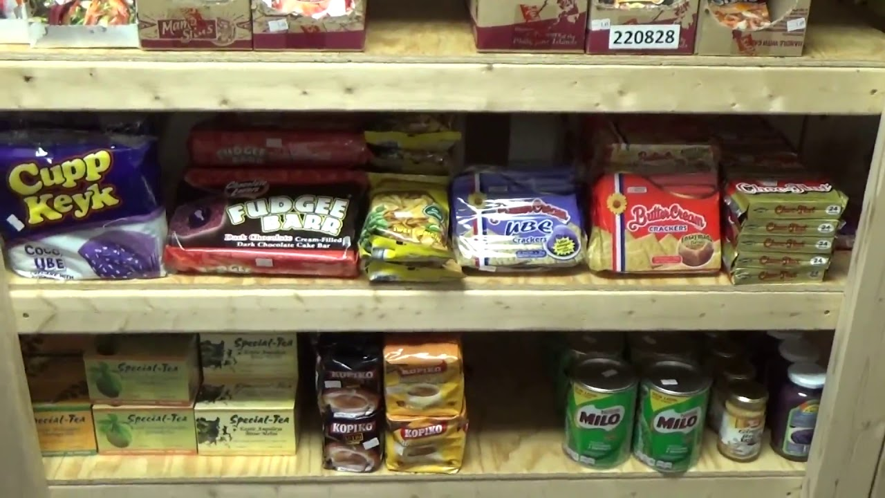Our Filipino Grocery Store Open To The Public Again