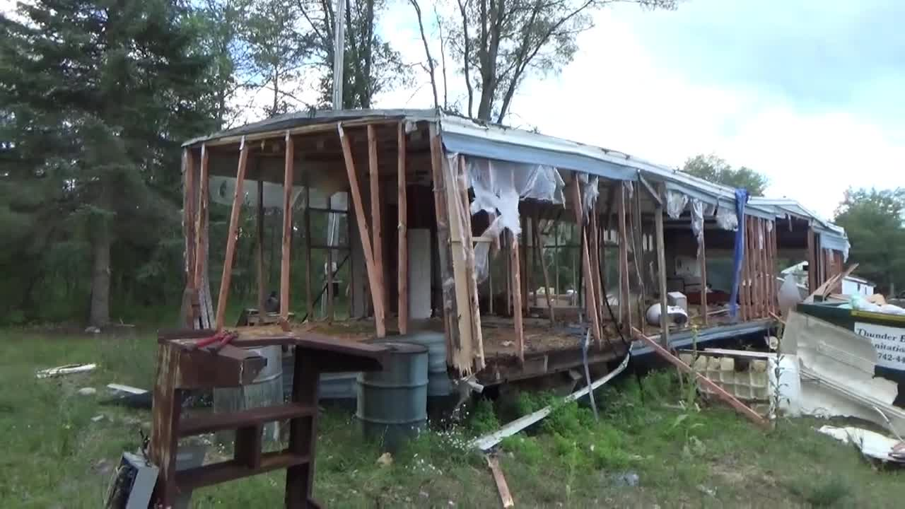 Demolition Of A Mobile Home