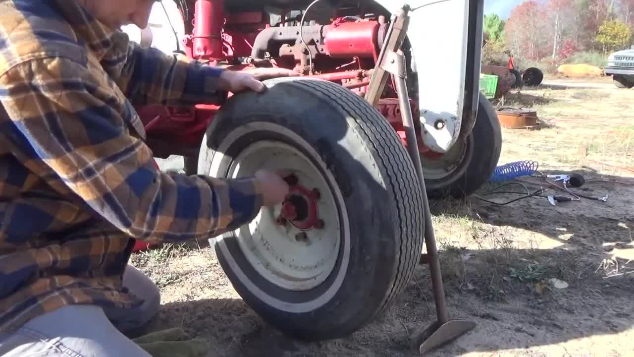 Bringing Our Ford 8n Tractor To The Off Grid Homestead