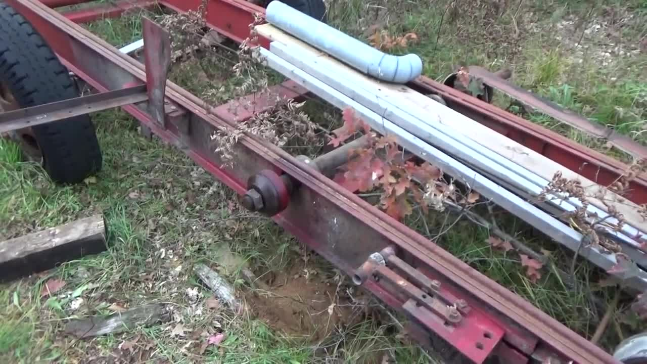 Our 44 ft Foley Belsaw Circular Sawmill By Sears Roebuck